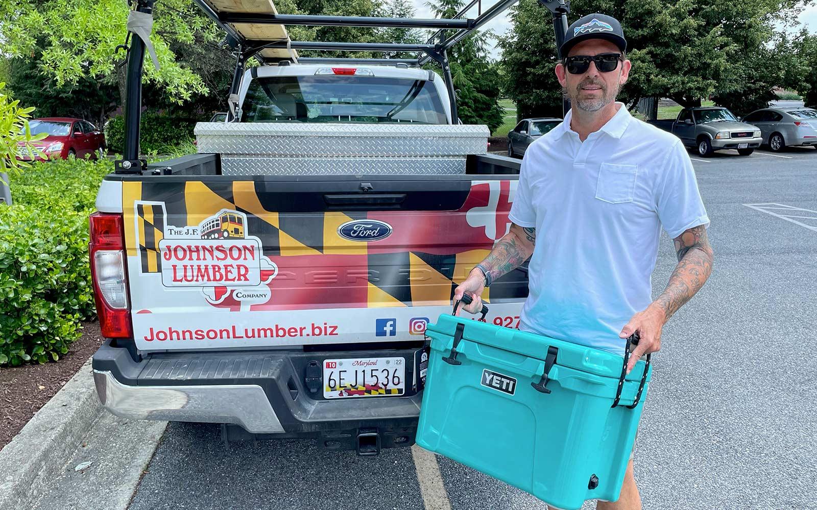 Referral Winner: John Gee, Johnson Lumber