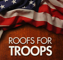 GAF Roofs For Troops Extended to 2013