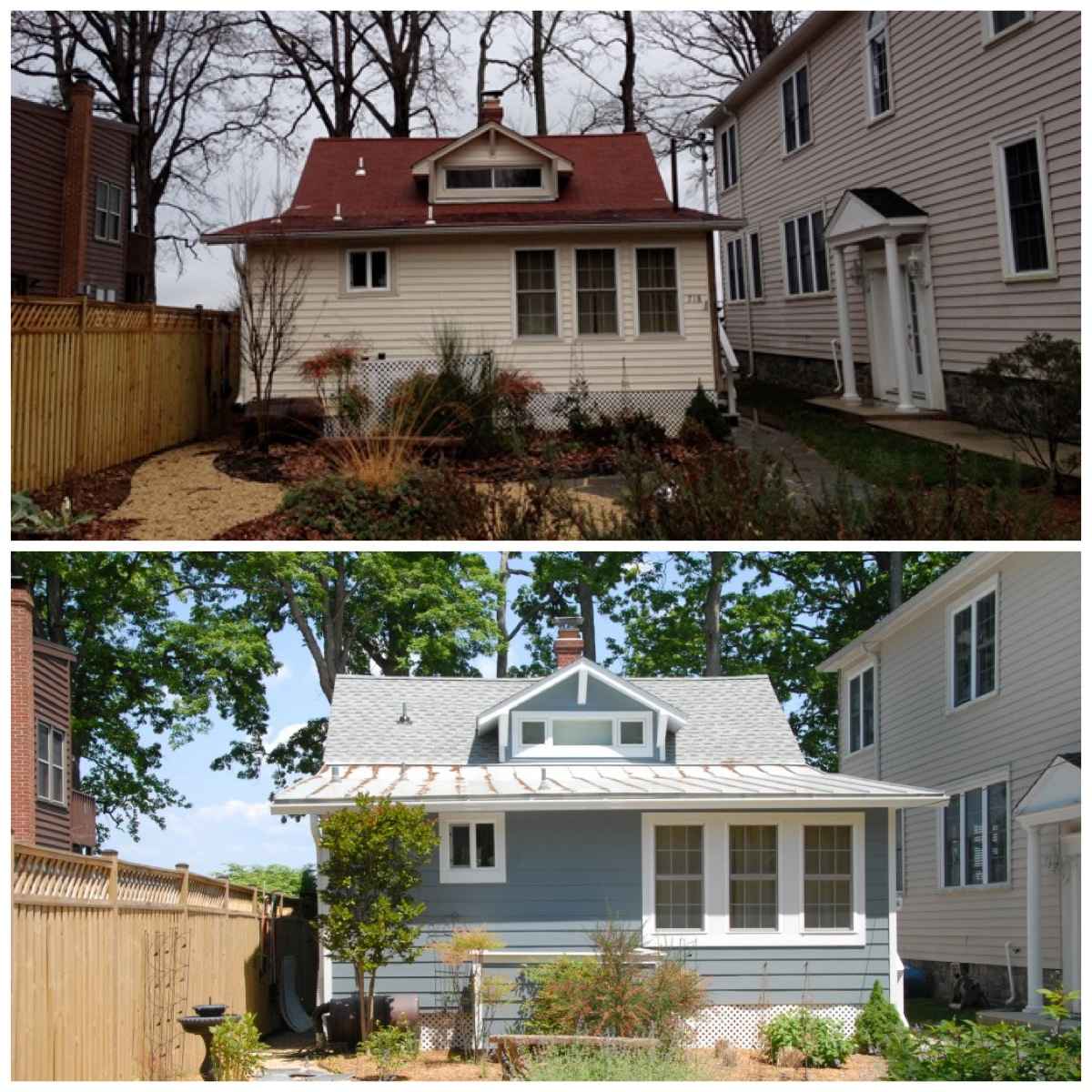 Before Amp After Roofing Annapolis Maryland Siding