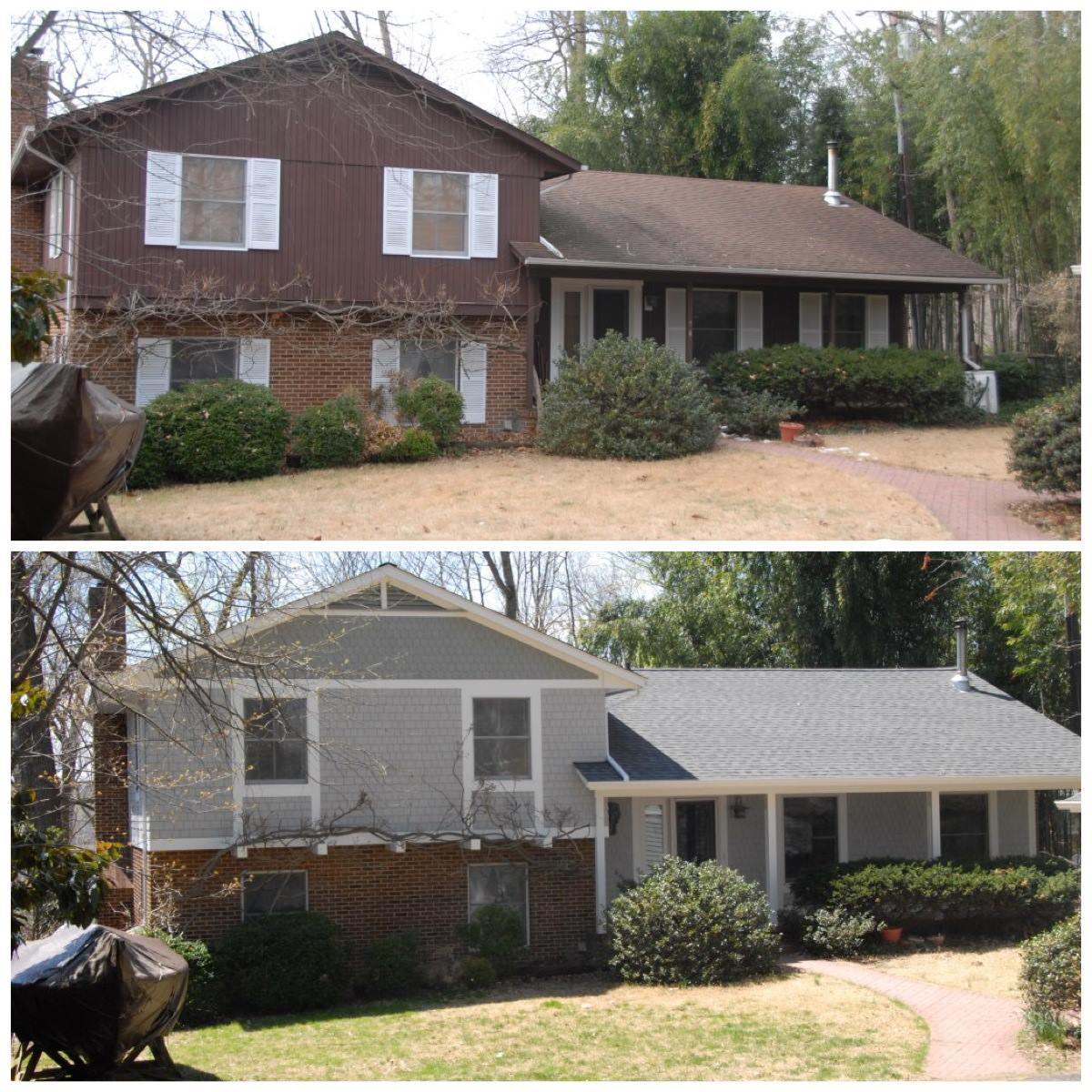 Featured Project – Complete Exterior Makeover in Crownsville