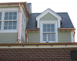 Fichtner Offers Copper Gutters in Annapolis